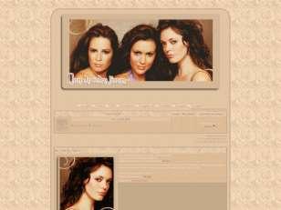 Charmed-trio