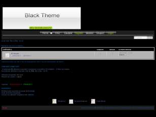 Black the simple theme