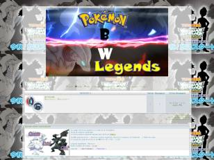 Pokémon bw legends