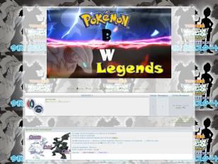 Pokémon bw legends