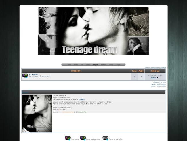 Teenage dream (Black)