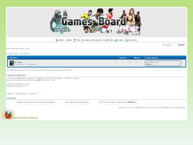 Egames-board
