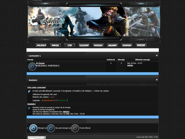 Internet game database