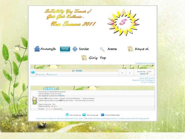 Yaz teması sosielb3y