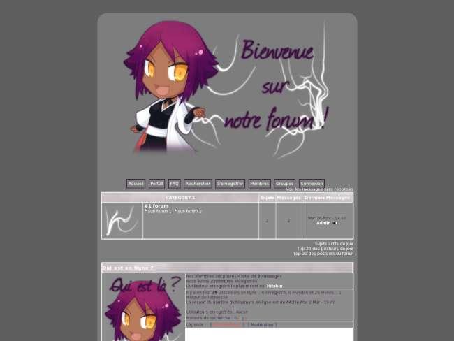 Bleach violet - non li...