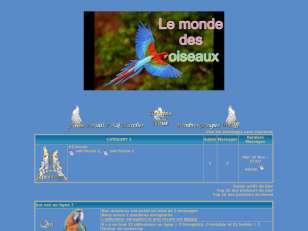 Le monde des oiseaux b...