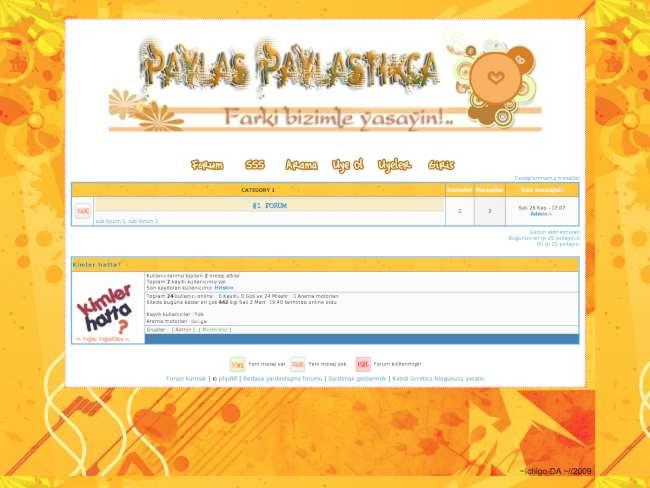 PAYLAS PAYLASTİKCA forum hizmete girmiştir