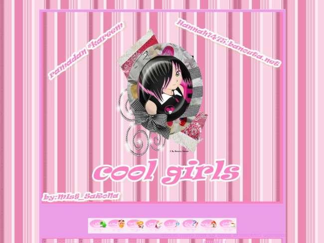 تصميم cool girls*