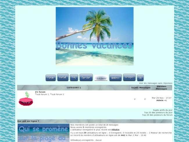 Bonnes vacances été 2011