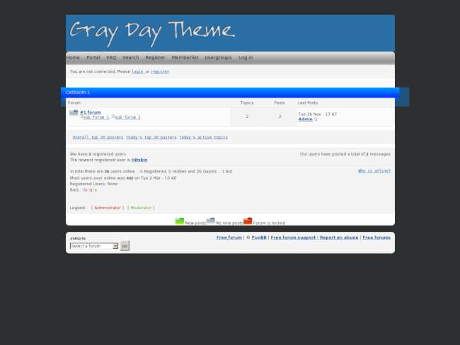 Gray day  Preview