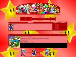 Mario colours thème ro...
