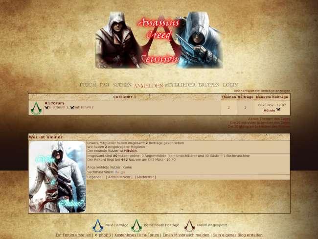 Assassins Creed Reunion