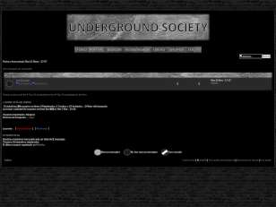 Underground society