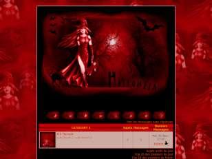 Halloween en rouge et ...