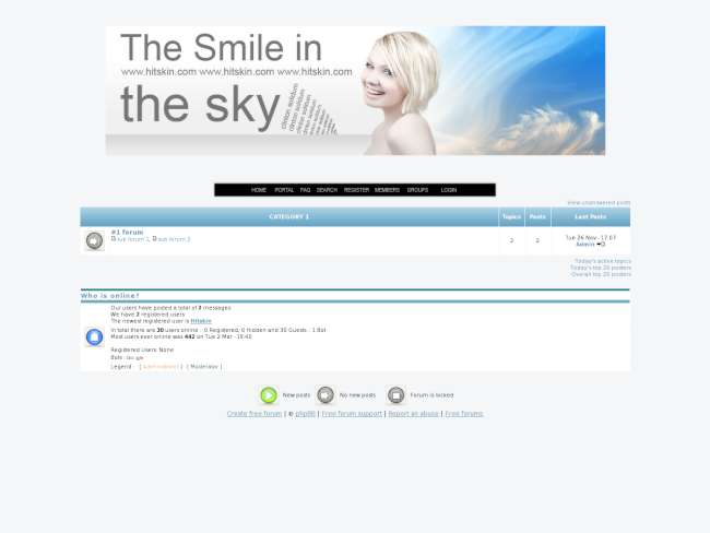 The Smile in the Sky