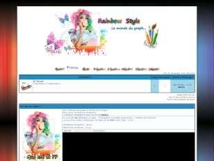 Rainbow style (thème p...