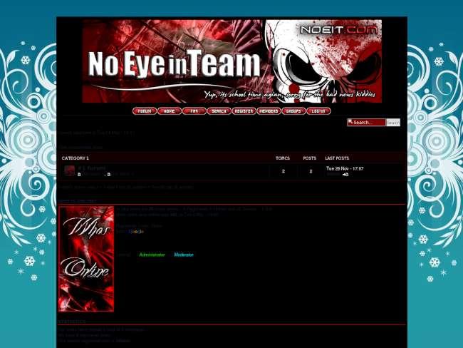 No eye in team