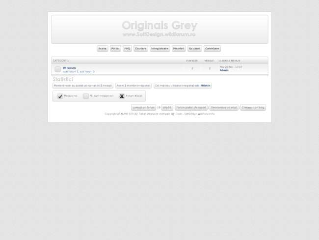 Originals grey phpbb3