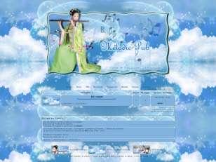 Geisha musical Bleu