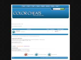 Color cheats - bluetheme