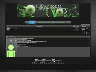 Sneakycodez theme v2