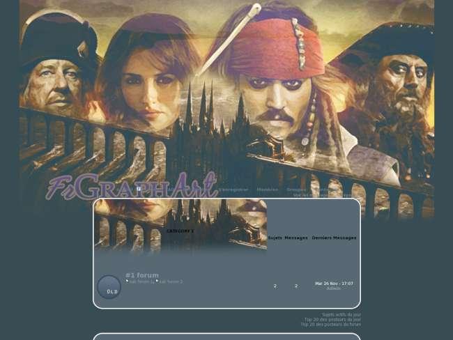 La magie des pirates