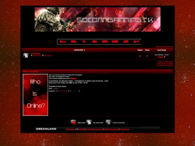 SocomGaming Official Theme