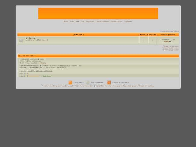 Est orange theme by: g...