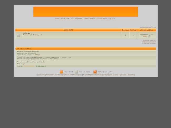 Est orange theme by: g...