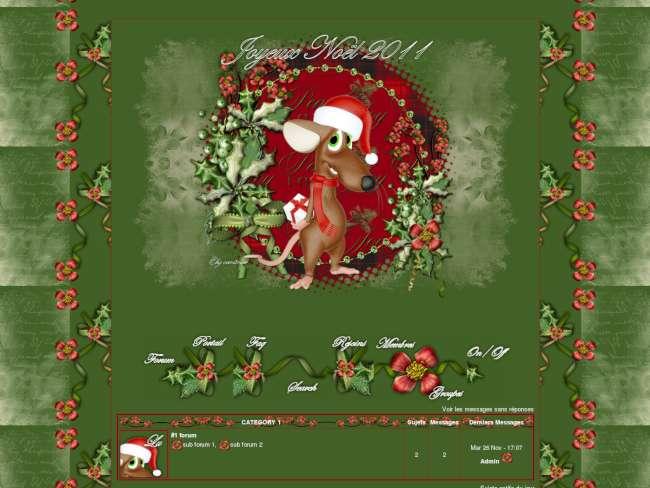 Rat de Noël