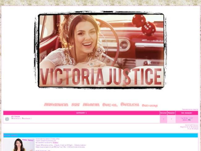 Victoria Justice T