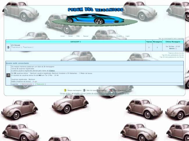forum dos mecanicos com efeito de transparência-versão beta