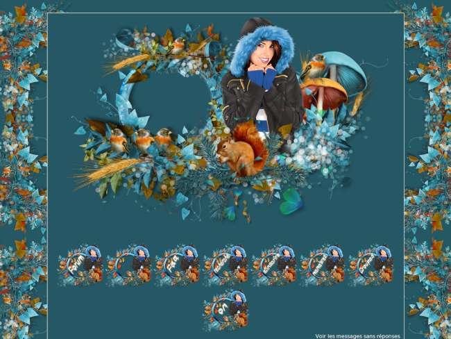 Entre automne et hiver