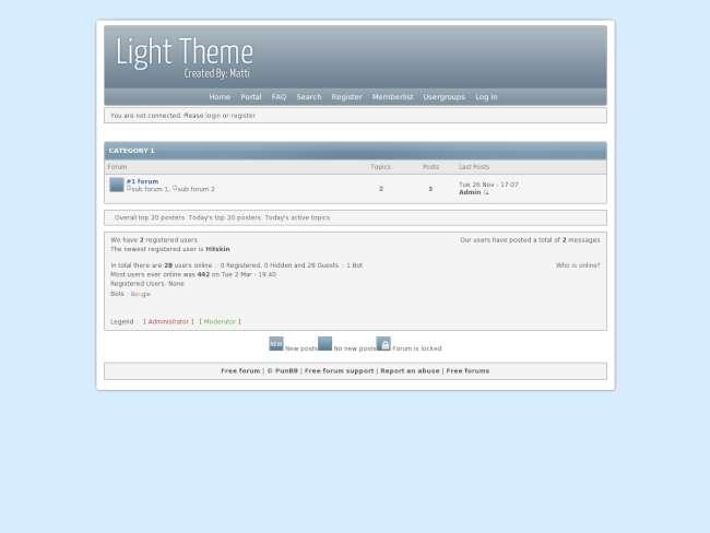 Light-Theme