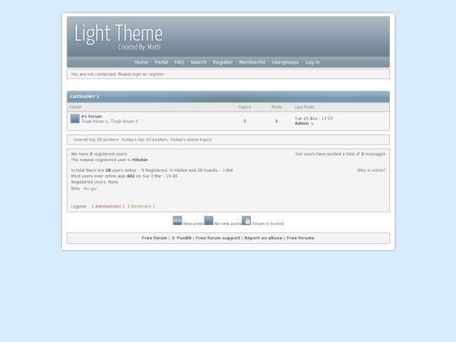 Light-theme
