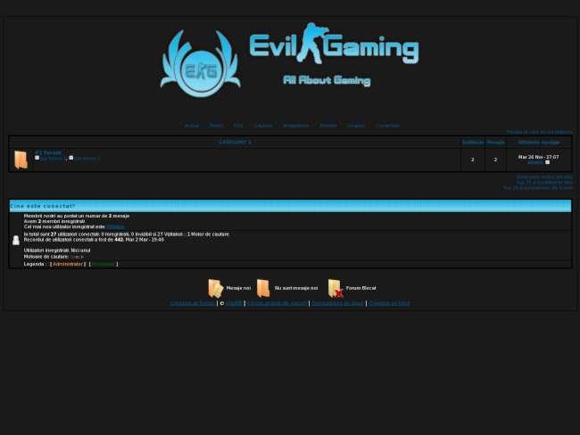 Evil Gaming Comunity