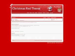 Christmas Red Theme