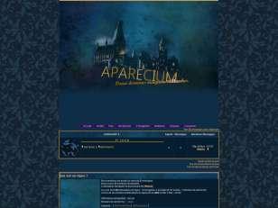 Aparecium thème