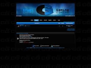 Cruel Gaming theme v1