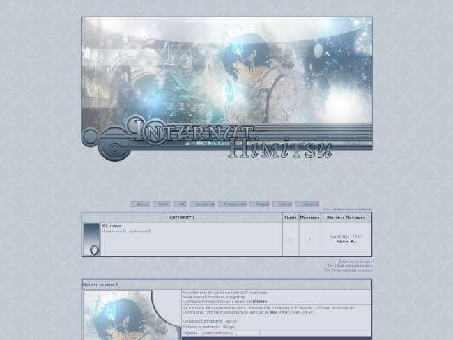 Himitsu blue version f...