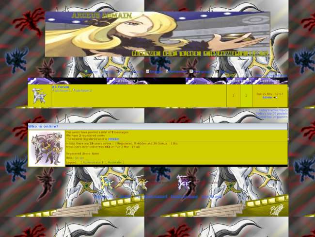 Arceus domain theme