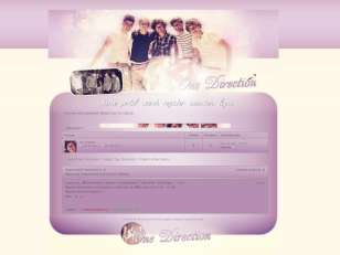 One direction skin