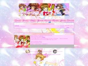Sakura theme card captor