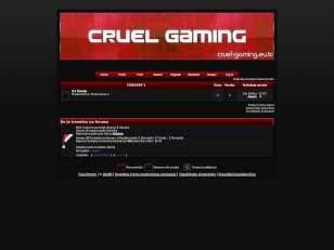 Cruel Gaming ; theme v2