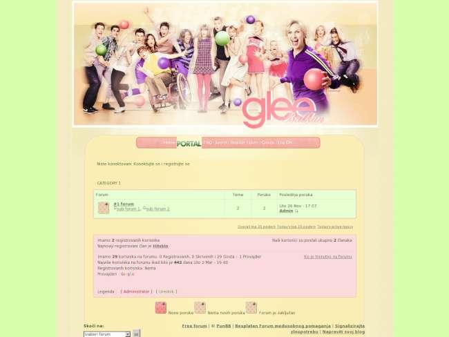 Glee balkan:p