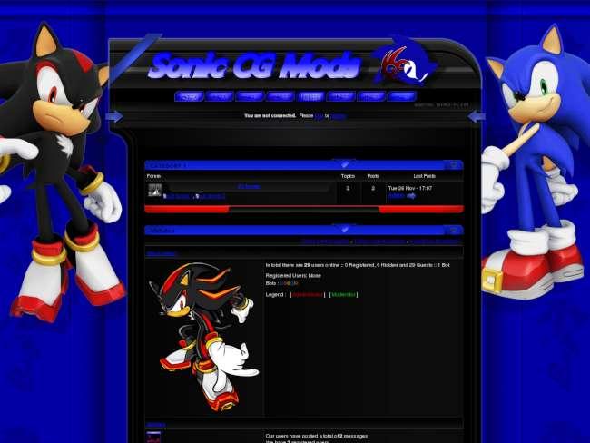 Sonic cg theme 1