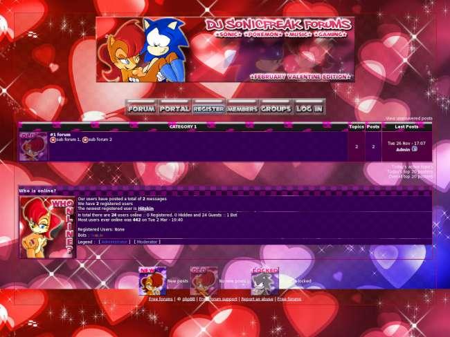 =SF= Valentine Skin 2012
