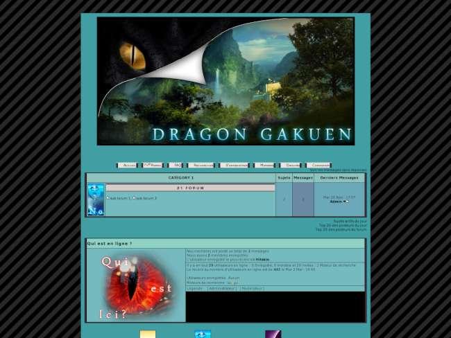 Dragon scool