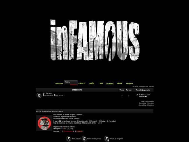 Infamous Public