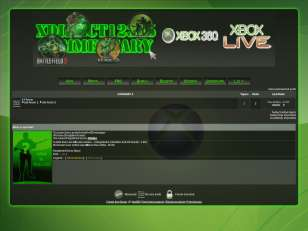 Xbox360 gaming theme
